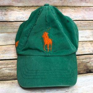 Polo Ralph Lauren Vintage 90s Strap Back Hat